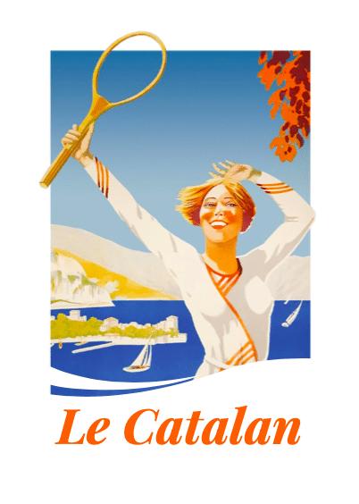 logo du restaurant le catalan